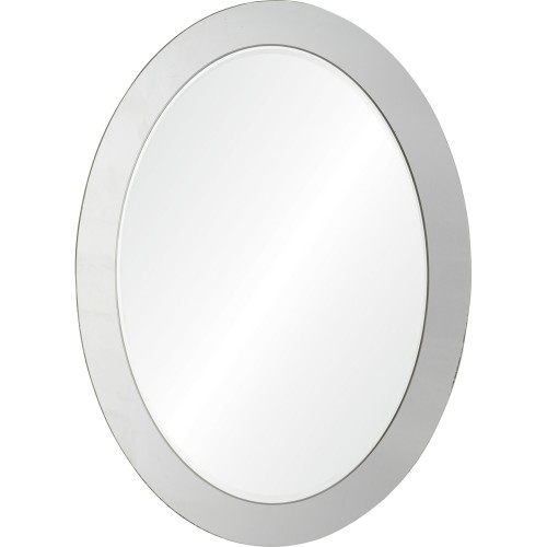 Ello Oval Mirror - Antique mirror