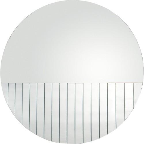Bowan Round Mirror - Silver