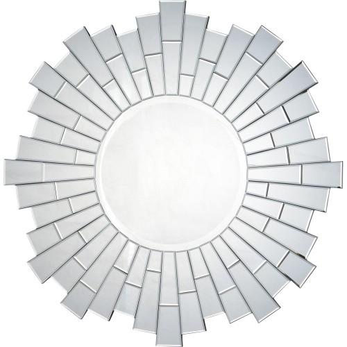 Sager Irregular Mirror - Silver Mirror