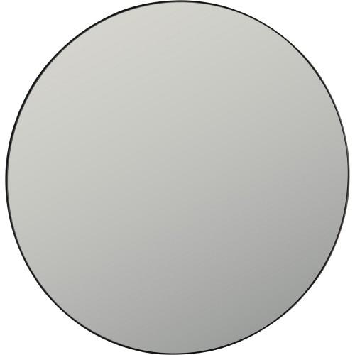 Sofi Round Mirror - Balck