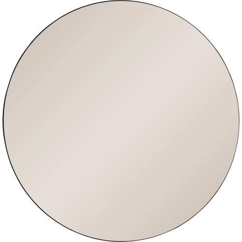 Prospect Round Mirror - Black