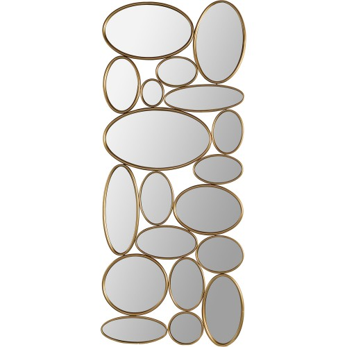 Solonette Irregular Mirror - Brass