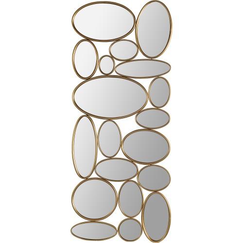Solonette Irregular Mirror - Brass