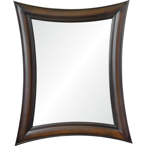 Luce Irregular Mirror - Brown