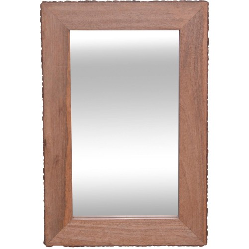Wally Rectangle Mirror - Natural