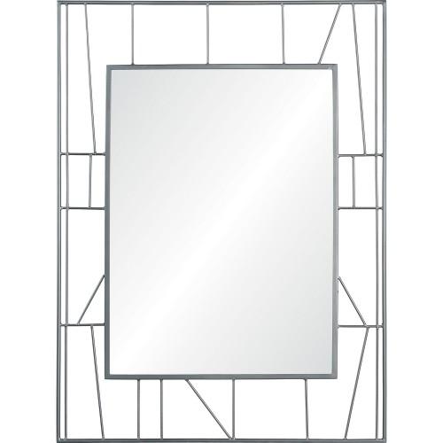 Radley Rectangle Mirror - Raw Metal