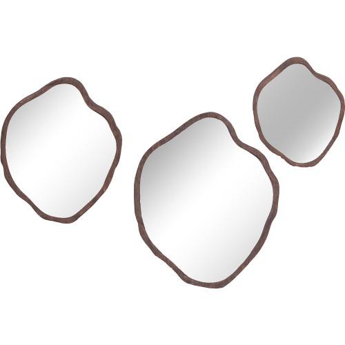 Izzo Irregular Mirror - Natural