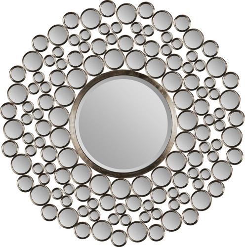 MT849 Round Mirror - Satin Nickel