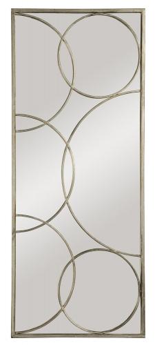 MT926 Portrait Mirror - Antique Silver
