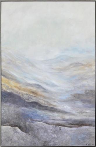 Bleaklow Canvas Painting - Matte
