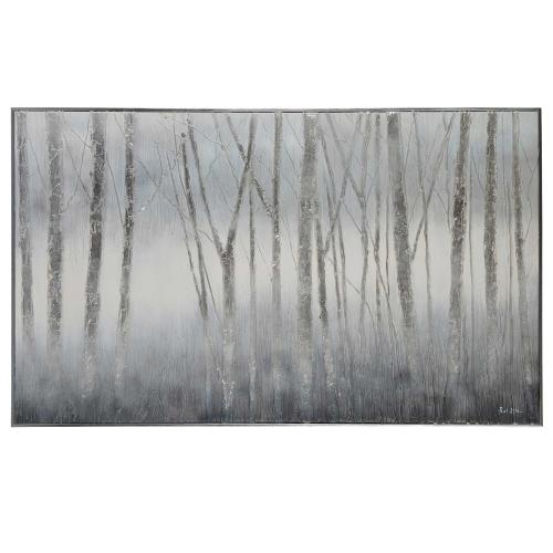 Juneau Canvas Painting - Matte