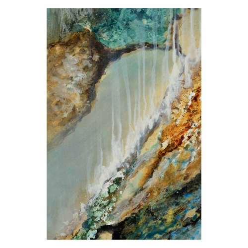 Cascade Canvas Painting - Matte