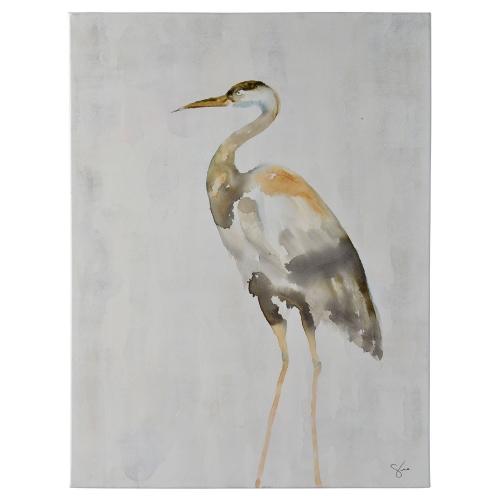 Sandhill Canvas Painting - Matte