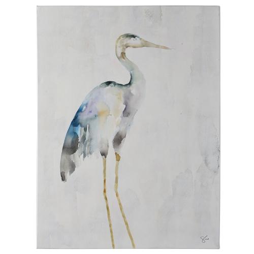 Demoiselle Canvas Painting - Matte