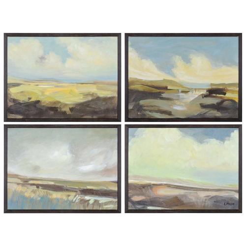 Argyle Canvas Painting - Matte