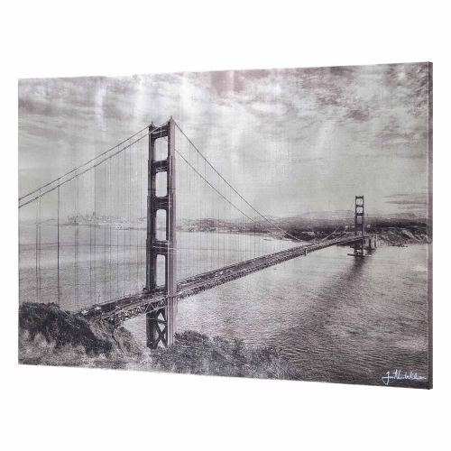 Glenora Canvas Painting - Glossy