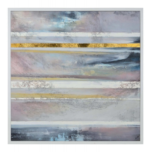 Chadband Canvas Painting - White