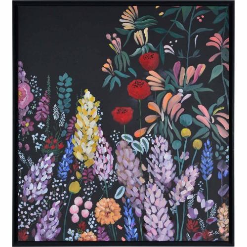 Wardley Canvas Art - Black