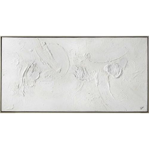 Yanno Canvas Art - Matte/Silver