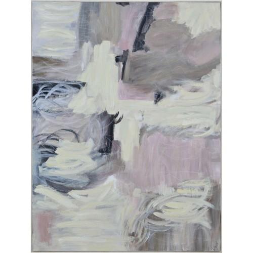 Elitan Canvas Art - Matte/White Timber