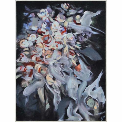 Efran Canvas Art - Matte/White Timber