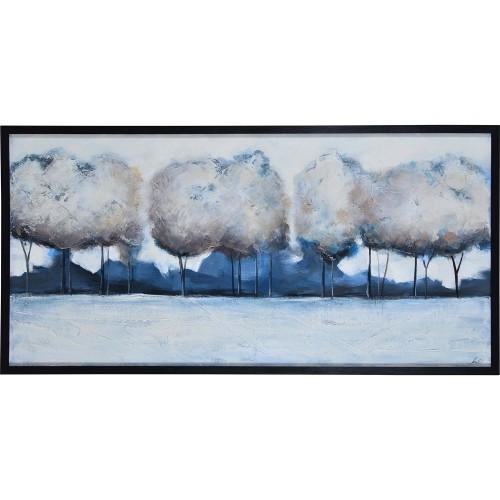 Edric Canvas Art - Matte/Black