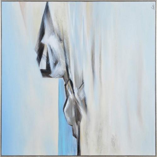 Edale Canvas Art - Matte/Silver