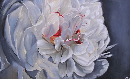 Floral Elegance Canvas Painting
