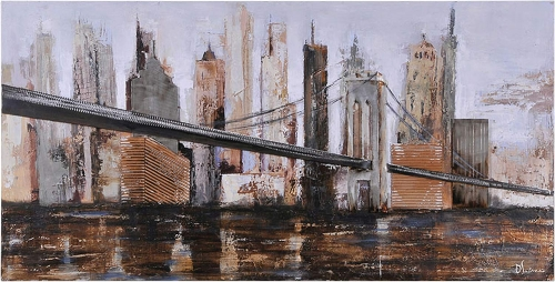 Urban Style Canvas Painting