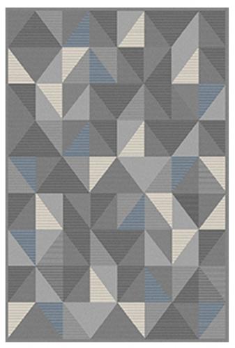 RAZU-15390-58 Azure Rug - Grey