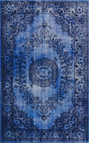RIST-A1-5276 Istanbul Rug - Dark Blue