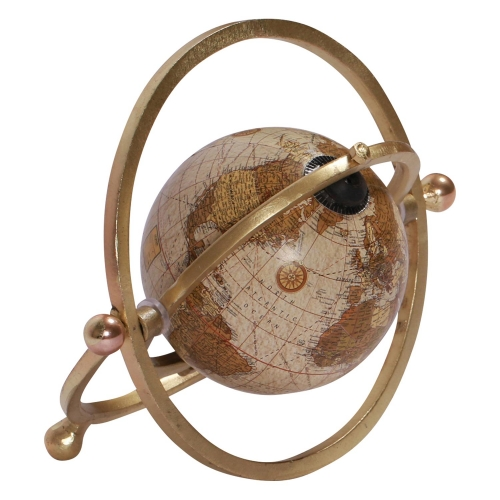 Global Statue - Brass Plated