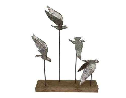 Alton Sculpture - Silver
