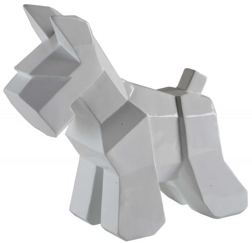 Cornice Statue - White