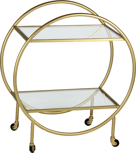 Bass Coffee Table - Antique Gold