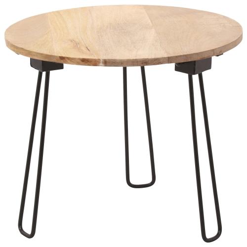 Medina I Accent table - Natural/Black