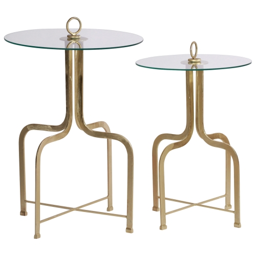 Bristol Accent table - Brass Plated