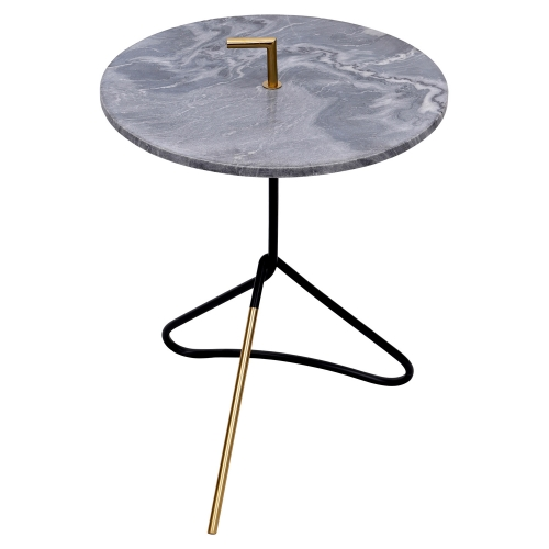 Concord Accent table - Black/Gold