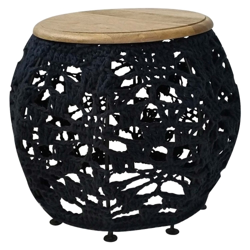 Arcadia II Accent Table - Navy