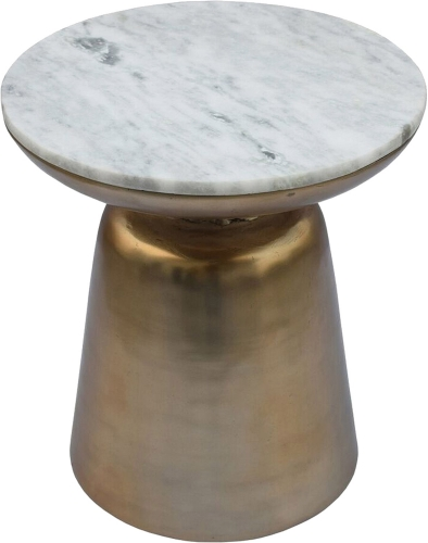 Dante Accent Table - Brass