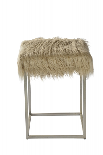 Sands Stool - Silver Leaf