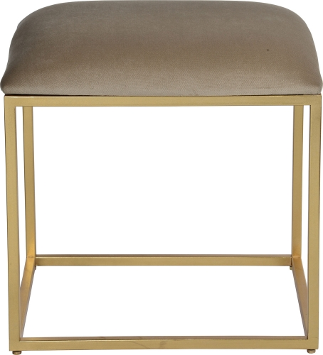 Wynn Stool - Gold Leaf