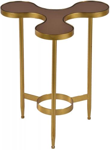 Jaco Side Table - Gold Leaf
