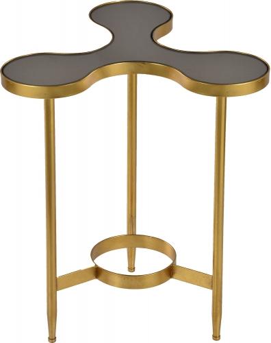 Rute Side Table - Gold Leaf