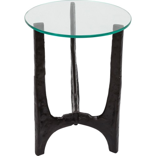 Jodene Accent Table - Bronze/Clear