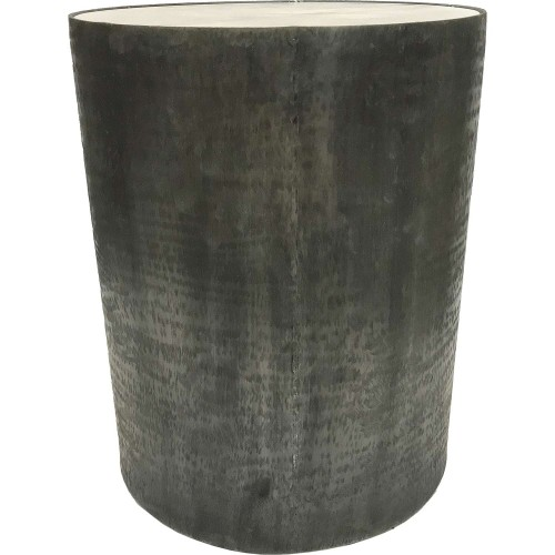 Balford Outdoor Accent Table - White Marble/Brush Gray