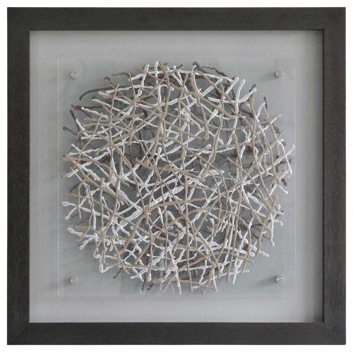 Webbed Framed Painting