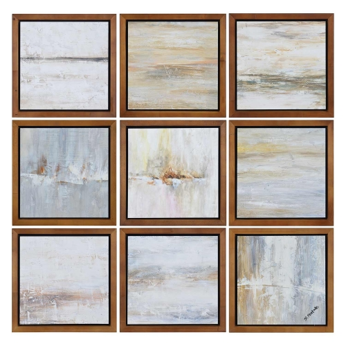 Simone Wall Decor Painting - Brown