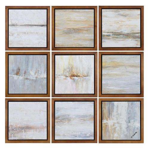 Simone Wall Decor Painting - Brown