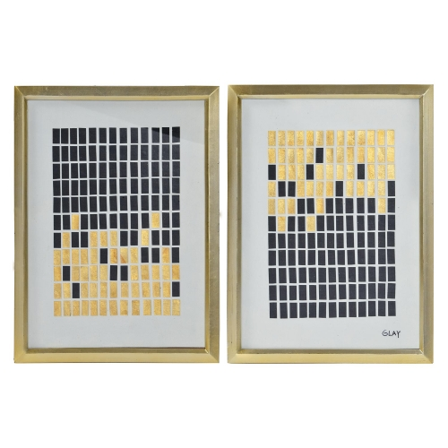 Stark Wall Decor Painting - Gold